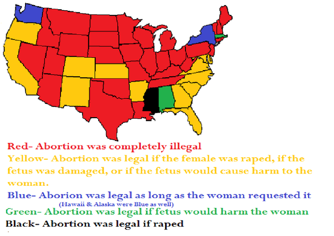 Abortion By State Abortion Right Or Wrong - Us abortion map
